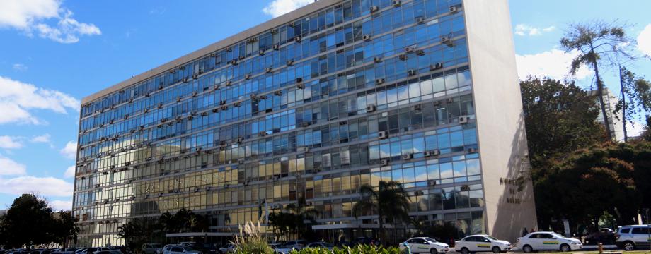 prédio do Ministério da Saúde