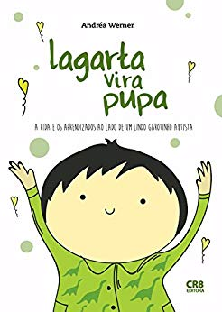 """Capa do livro """"Lagarta via pupa""""."""