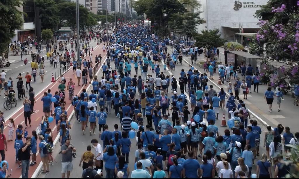 Caminhada pelo Autismo na Avenida Paulista, em SP — Revista Autismo