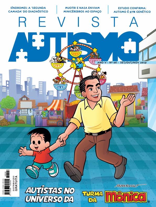 Revista Autismo destaca o trabalho de inclusão de Mauricio de Sousa