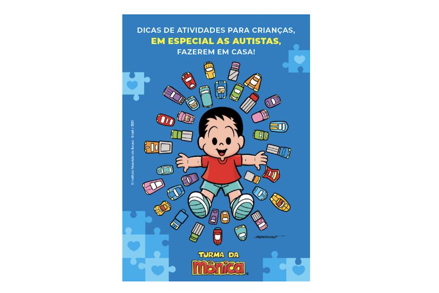 Atividades para as crianças, especialmente as autistas, fazerem em casa — Instituto Mauricio de Sousa e Revista Autismo