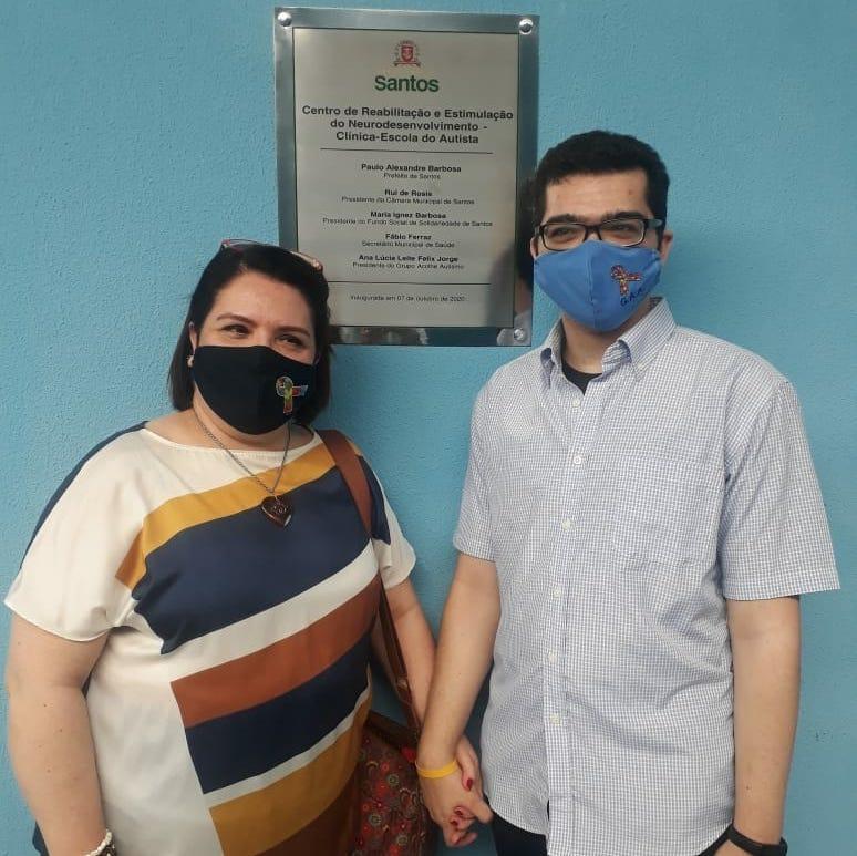 Santos perde mãe ativista para Covid-19, Ana Lucia Leite Felix - Canal Autismo / Revista Autismo