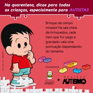 Dica de atividade com André, da Turma da Mônica - Canal Autismo / Revista Autismo
