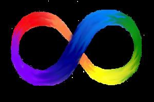 Símbolo da neurodiversidade - Canal Autismo / Revista Autismo