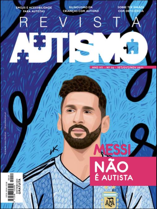 Capa da Revista Autismo edição número 14 (set/out/nov.2021) - Canal Autismo / Revista Autismo